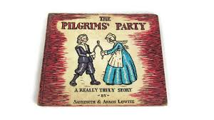 the pilgrims book the pilgrims party vintage children s book attic and barn treasures