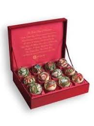 Lenox Christmas Ornaments Set Of 5 by 12 Days Of Christmas Ornaments Ebay