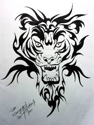 japanese style tiger designs models picture