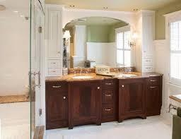 Vanity Undermount Sinks Rustic Bathroom With Wooden Vanities Featured Copper Sinks