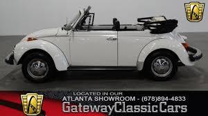vintage volkswagen convertible 1978 volkswagen beetle gateway classic cars 191