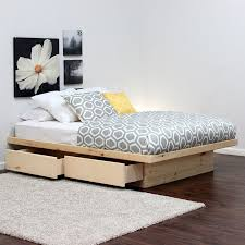Platform Bed Diy Drawers by Best 25 Queen Platform Bed Ideas On Pinterest Platform Bed