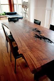 Walnut Slab Table by Wood Slab Furniture