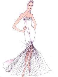 40 best dress sketch images on pinterest wedding dress sketches