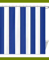 Blue Striped Curtains Cool Navy And White Striped Curtains For Your Cozy Interior Rooms
