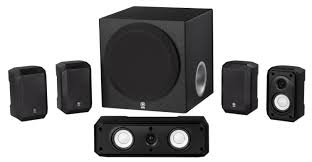 home theater subwoofer yamaha ns sp1800 5 1 speaker system w 8