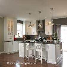 refaire les armoires de cuisine armoires de cuisine blanches en mélamine polyester contemporaines