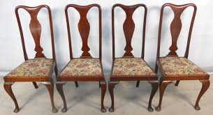 Style Dining Chairs Clever Design Dining Chairs Set Of Four Style Mahogany
