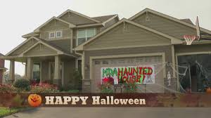 12 year old converts family u0027s garage to haunted house for charity