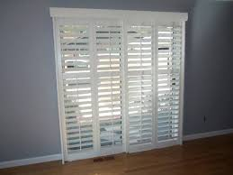 Plantation Shutters On Sliding Patio Doors Beautiful Sliding Patio Door Shutters Garden