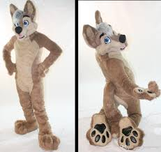 Fox Halloween Costume Kids Oisk Custom Husky Dog Mascot Size Halloween Cartoon