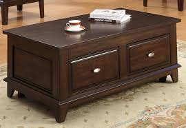 harmon lift top coffee table with caster by crown mark furniture