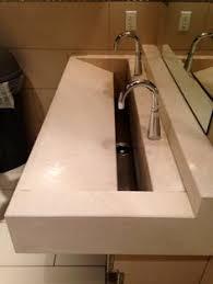 Slab Sink   slab trough sink project lehi residence spec pinterest