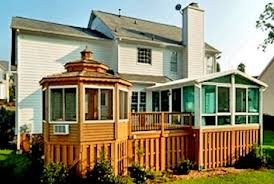 Deck To Sunroom Factory Direct Remodeling Of Atlanta Photo Gallery