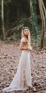 wedding boho dress best 25 bohemian style wedding dresses ideas on