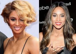 hair styliest eve celebrity hair changes 2013 ciara wears a longer dark hair
