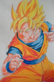 i u0027m ready u0027 u0027 super saiyan son goku colored by