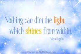 nothing can dim the light that shines from within beth allen conscious choices wellness