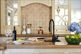kitchen black and white kitchen tiles green backsplash cream