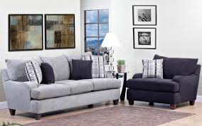 Grey Patterned Accent Chair Light Grey Fabric Modern Sofa U0026 Accent Chair Set W Options