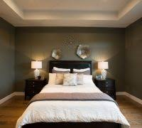 Light Up Headboard Light Up Wall Art Bedroom Transitional With Recessed Lighting