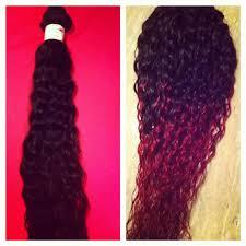 black hair to raspberry hair brazilian virgin convertible curly diy raspberry ombre youtube