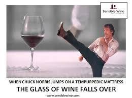 Wine Glass Meme - chuck norris wine facts meme collection sensible wino wine