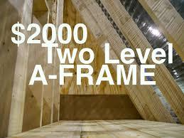 A Frame Cottage Floor Plans by Log Cabin A Frame House Plans Log Cabin A Frame Kits Log Cabin A