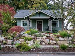 small front yard landscaping ideas landscape craftsman with front