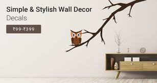 home decor buy home decorative items online flipkart com simple stylish decals