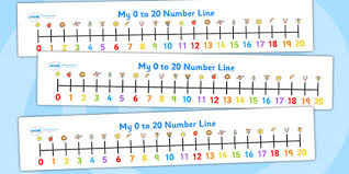 number line 1 20 clipart bbcpersian7 collections