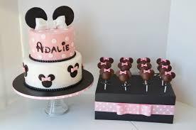 birthday cake pops minnie birthday cake and cake pops cakecentral