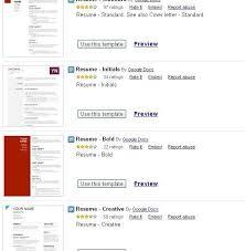 Google Docs Resume Template Free Use Google Docs Resume Templates For A Free Good Looking Resume