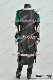 thor 2 the dark world loki cosplay costume full set