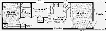 Vesta Homes Inc Gallery 16 X 50 Floor Plans
