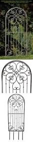 french garden gate wall decor home outdoor decoration