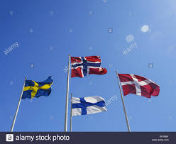 Flag Of Norway Flags Of The Nordic Countries Norway Denmark Sweden Finland
