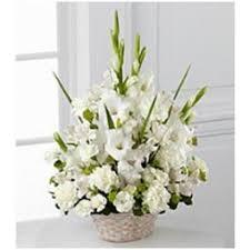 corbeille mariage corbeille igname blanc fleurs mariage