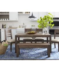 6 pc dining table set avondale 6 pc dining room set created for macy s 60 dining