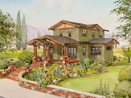 california bungalow floor plans low pitched roofs with large overhangs are reminiscent of greene