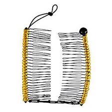 banana comb buy medium gold hairzing cord s t r e t c h banana comb hair