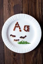 alphabet kids snacks a is for ant