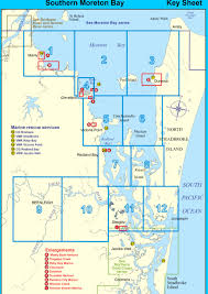 Southern Ocean Map Southern Moreton Bay Map Index