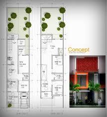 desain rumah lebar 6 meter inspirasi desain rumah di lahan lebar 5 meter andik winarto