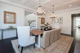 Dining Rooms With Wainscoting Traditional Dining Room With Wainscoting U0026 Hardwood Floors In