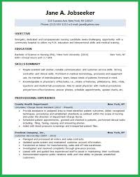Sample Nursing Resumes by Entry Level Nurse Resume Sample Resume Genius Sample Nursing