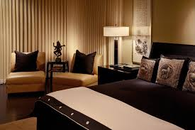 Brown Leather Couch Interior Design Ideas Bedroom Cute Two Brown Leather Sofa With Black Cushions Also