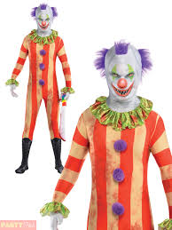 scary clown costume ebay