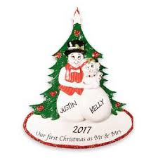 personalized christmas ornaments ornaments with love