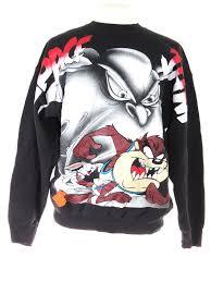 space jam sweater 1996 space jam looney tunes crewneck 5 vintage